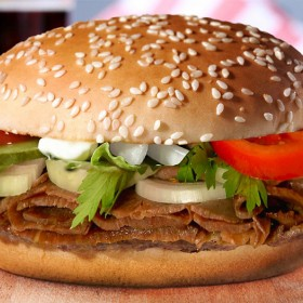 Lamb Doner Burger